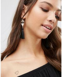 Ashiana - Multicolor Shiana Tassle Drop Earrings - Lyst