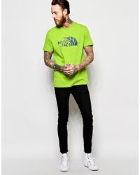 The North Face - Multicolor T-shirt With Easy Logo for Men - Lyst