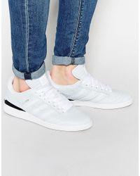 Adidas Originals buzentiz clasificados formadores f37348 en blanco para