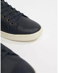 ALDO Sigrun – Marineblaue Retro-Sneaker in Blue für Herren
