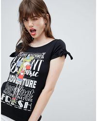 "T-shirt con scritta ""Selfie Girl"" di Love Moschino in Black"