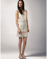 FIN Oslo - Pink For Asos Zip Detail Slip Dress - Lyst