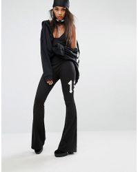 PUMA   Black Fenty X By Rihanna Flared Jumpsuit   Lyst