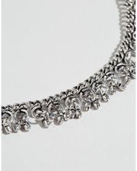 ASOS - Metallic Limited Edition Vintage Style Chain Necklace - Lyst