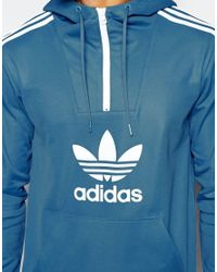 Adidas Originals - Pink Shattered Stripe Hoodie In Blue Az3269 for Men - Lyst