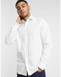 Белая Оксфордская Рубашка Узкого Кроя -белый Ben Sherman для него, цвет: White