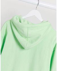 Худи Из Органического Хлопка Мятно-зеленого Цвета -зеленый Weekday, цвет: Green