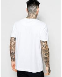 Pretty Green - T-shirt With Liam Pose Print In White for Men - Lyst