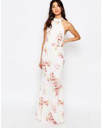 Jarlo - Multicolor Caden High Neck Maxi Dress - Lyst