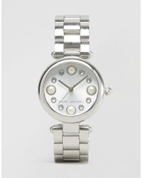 Marc Jacobs - Metallic Silver Dotty Watch Mj3475 - Silver - Lyst