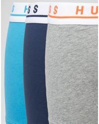 BOSS Blue By Hugo Trunks In 3 Pack for men