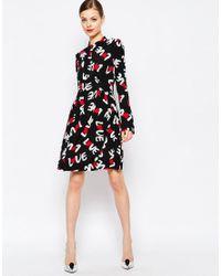 Love Moschino Black Knee-length Dress