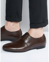 HUGO Brown By Boss Pariss Derby Shoes for men