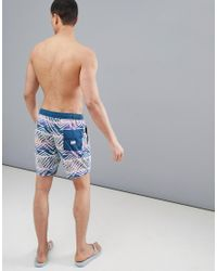 Billabong Sundays Layback 16 Board Shorts In Blue for men