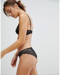 ASOS - Black Design Rita Basic Lace Mix & Match Underwire Bra - Lyst