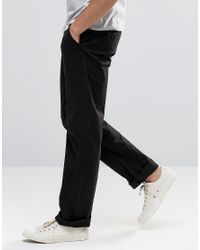 French Connection - Black Chino Pant for Men - Lyst