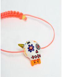 N2 Multicolor Colourful Skull Bracelet