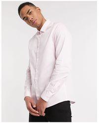 Topman – Langärmliges, gestreiftes Hemd in Multicolor für Herren