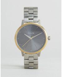 Nixon Brown Mixed Metal Kensington Watch A099-2477