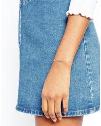 Astrid & Miyu | Metallic Gemini Zodiac Bracelet | Lyst