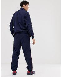 Lacoste – Trainingsanzug in Blue für Herren