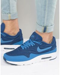 newest d5d65 d4522 Men s Air Max 1 Ultra Trainers In Blue 845038-400