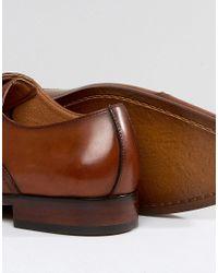 Steve Madden - Brown Herbert Oxford Shoes In Tan for Men - Lyst