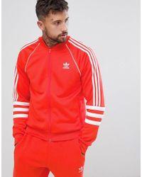 Красная Спортивная Куртка Authentic Superstar Dj2858 Adidas Originals для него, цвет: Red