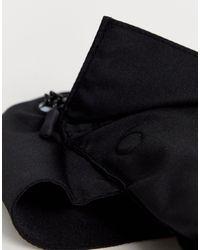 Sac harnais pour la jambe avec bride jaune fluo ASOS pour homme en coloris Black