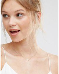 Nylon - Metallic Heart Pendant Necklace - Lyst