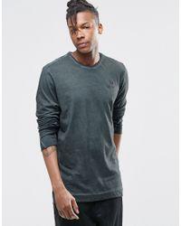Adidas Originals   Gray Street Modern Long Sleeve T-shirt Ay9193 for Men   Lyst
