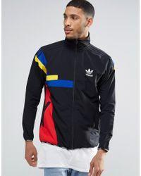 adidas Originals Synthetic Block Track Jacket Ay9289 in
