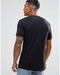 Adidas Originals - Black Colour Pattern T-shirt Az1054 for Men - Lyst