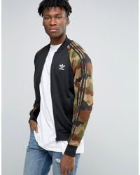 fast delivery footwear top design adidas Originals Synthetic Camo Pack Track Jacket Ay8172 in ...