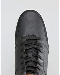 ALDO - Bonica Hi Top Trainers In Black for Men - Lyst