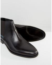 ALDO Markin Chelsea Boots In Black Leather for men