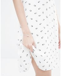 Orelia | Blue Elephant Friendship Bracelet | Lyst
