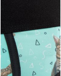 ASOS | Blue U Bound Briefs With Unicorn Cat Print In Microfibre for Men | Lyst