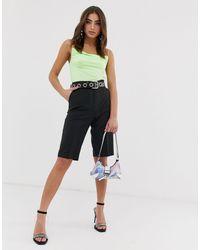 Pantalones cortos en negro City ASOS de color Black