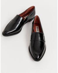 Matt & Nat Platte Loafers in het Black