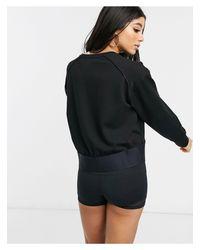Черный Свитер С Логотипом Calvin Klein, цвет: Black