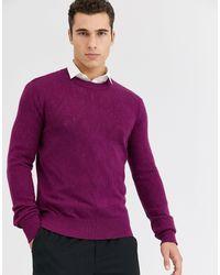 Jersey SELECTED de hombre de color Purple