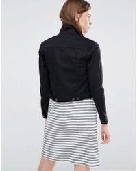 Cheap Monday Vital Denim Jacket - Black