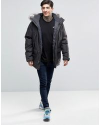 The North Face Gray Mountain Murdo Down Parka In Grey for men