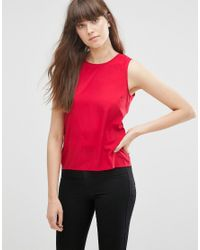 Vero Moda - Red Chain Tank Top - Lyst