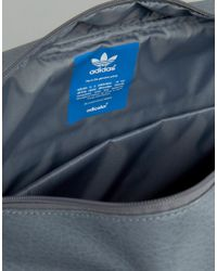 Adidas Originals - Gray Airliner Suede Bag for Men - Lyst