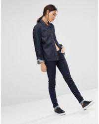 Levi's Blue Levi's Line 8 Boyfriend Fit Denim Trucker Jacket
