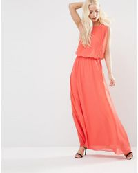 Y.A.S Multicolor Hibiscus Maxi Dress