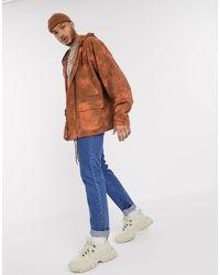 Оранжевая Хлопковая Куртка В Стиле Oversized -светло-коричневый Reclaimed (vintage) для него, цвет: Brown