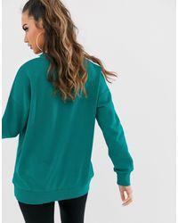 Эксклюзивный Сине-зеленый Свитшот T7 PUMA, цвет: Green